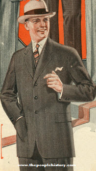 Men's Brown Suit 1924
