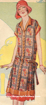Silk Warp Crepe Dress 1924
