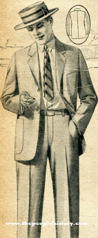 Light and Cool Suit 1926