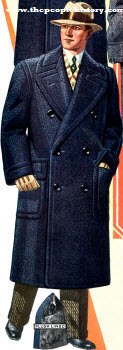 Blue Chinchilla Overcoat 1928