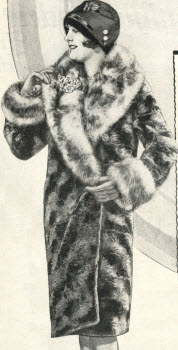 Fancy Fur Coat 1928