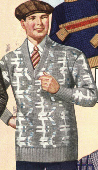 Men's Pullover Sweater 1928