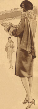 Throw Scarf Coat 1928