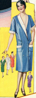 Reversible Apron Dress 1929