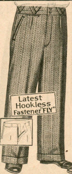 Wool Trousers 1929