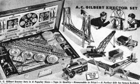Gilbert Erector Set  Vintage Toy
