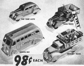Selection of cars 1941