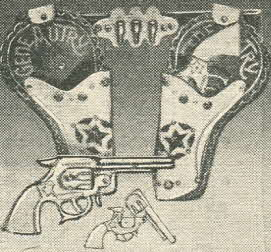 Double Holster From The 1950s