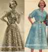 Early 50s Dresses