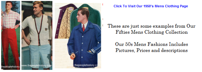 Click To Visit Our 50s Mens Fashions Page