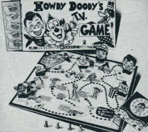 Howdy Doody's TV Game From The 1950s