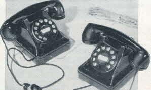 Inter-Com Telephone From The 1950s