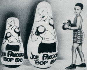 Joe Palooka Bop Bag From The 1950s