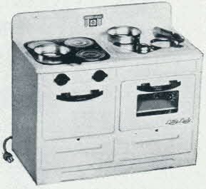 Little Lady Electric Range From The 1950s