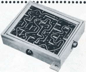 Marble Maze From The 1950s