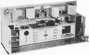 Modern Kitchen Unit Playset From The 1950s