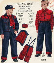 Boys' Flannel Lined Jeans