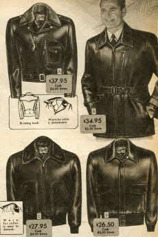 Men's Horsehide Jackets