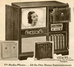 TV-Radio-Phono Home Entertainment Console