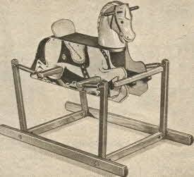 Bounce Away Horse From The 1950s