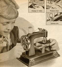 Deluxe  Sewing Machine From The 1950s
