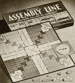 Game of Assembly Line From The 1950s
