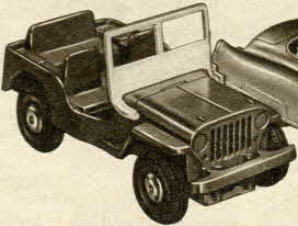 Siren Jeep From The 1950s