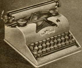 Typewriter From The 1950s