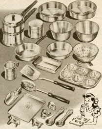 Aluminumware Cooking Set From The 1950s