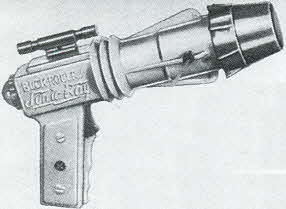 Buck Rogers Sonic Light Ray Gun From The 1950s
