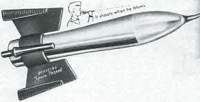 Buzz Corry Space Patrol Flashlight From The 1950s