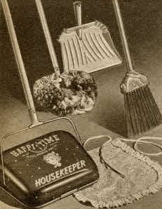 Happi-Time Sweeper Set From The 1950s