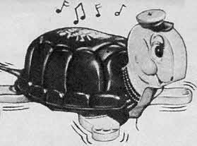 Musical Timmie Turtle From The 1950s