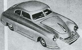 Porsche Car From The 1950s
