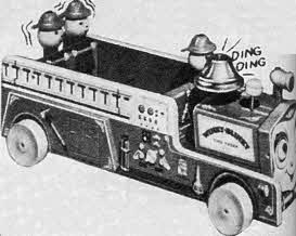 Winky Blinky Fire Truck From The 1950s