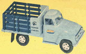 Farm Stake Tonka Truck From The 1950s