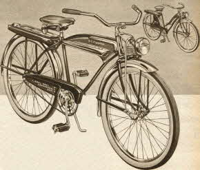 J.C. Higgins Bicycle From The 1950s