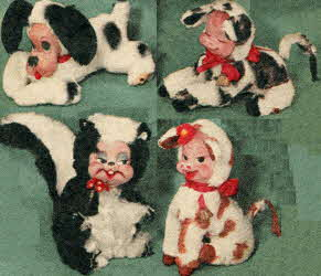 Animal Dolls From The 1950s
