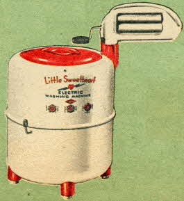 Little Sweetheart Electric Washing Machine From The 1950s