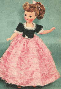 Horsman Mardi Gras Doll From The 1950s