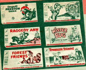 Milton Bradley Games From The 1950s