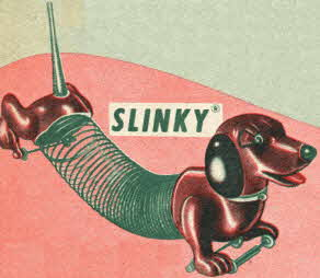 Slinky Dog From The 1950s