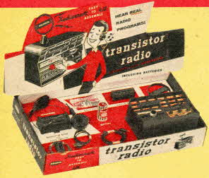 Transistor Radio Kit From The 1950s