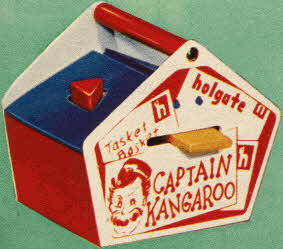 Captain Kangaroo Tasket Basket From The 1950s