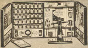 Chemcraft Master Deluxe Lab From The 1950s
