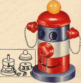 Freddie Fireplug From The 1950s