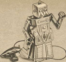 Robert the Animated Robot From The 1950s