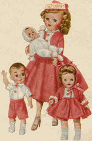 The Most Happy Family Doll Set From The 1950s
