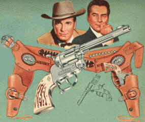 Maverick Holster Set From The 1950s