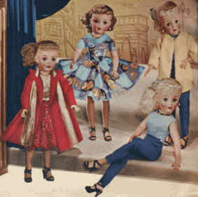 Revlon Fashion Dolls From The 1950s